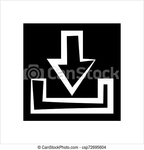 Download Icon, Download - csp72695604
