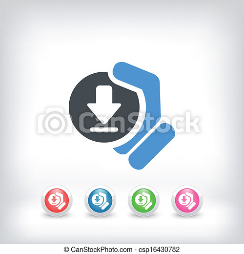 Download icon - csp16430782
