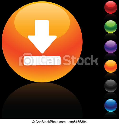 Download icon. - csp8165894