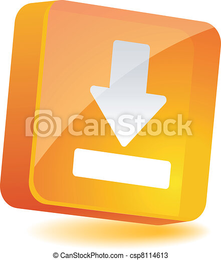 Download Icon. - csp8114613