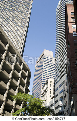Downtown Boston - csp3154717