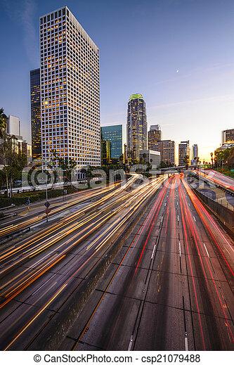 Downtown LA - csp21079488