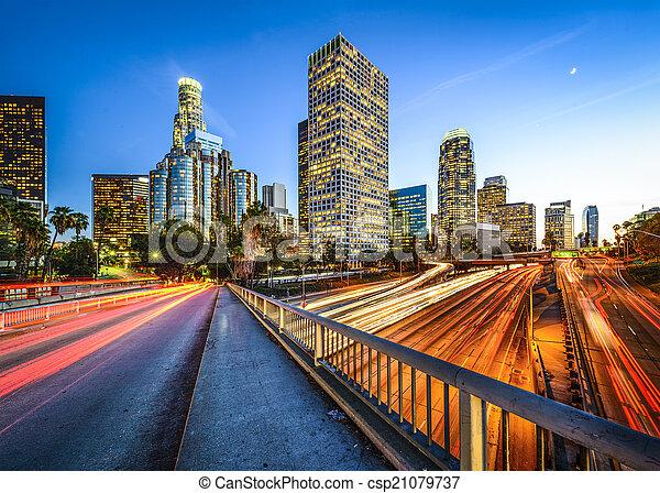 Downtown LA - csp21079737