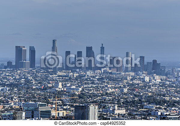 Downtown Los Angeles - California - csp64925352