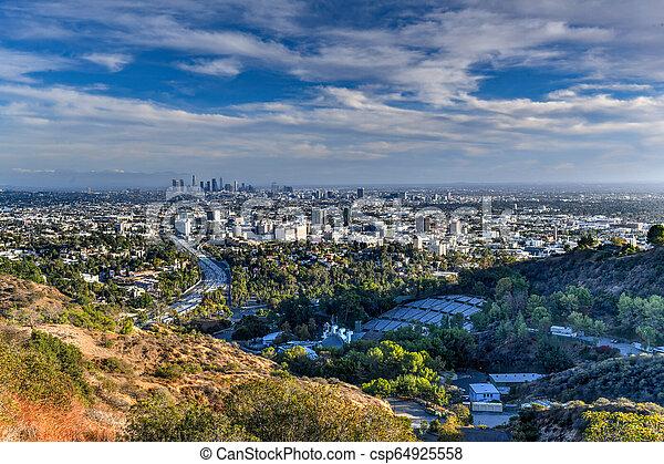Downtown Los Angeles - California - csp64925558