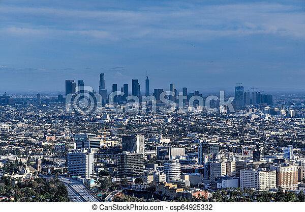 Downtown Los Angeles - California - csp64925332