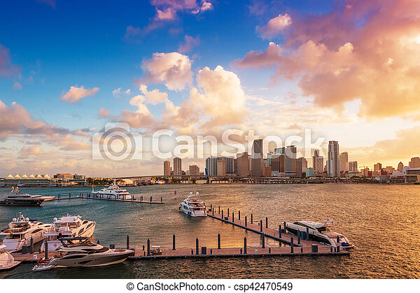 Downtown Miami, Florida - csp42470549
