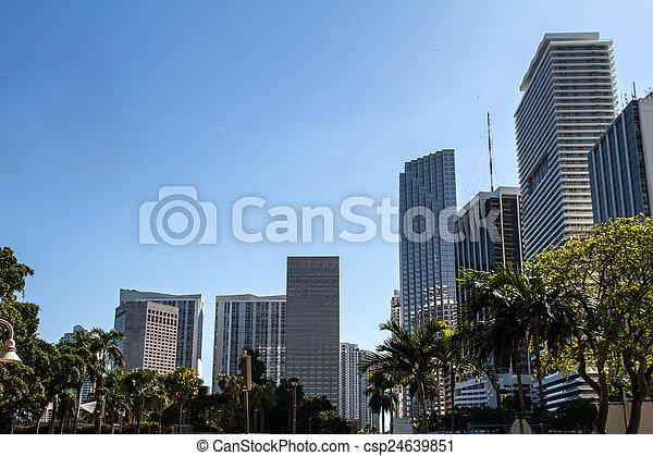 Downtown of Miami - csp24639851