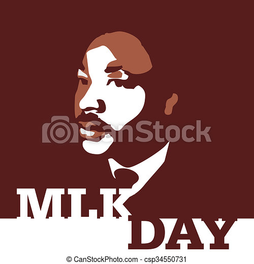 Dr Martin Luther King Jr Day An Abstract Illustration Of A