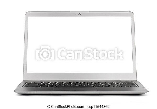 draagbare computer, scherm, leeg - csp11544369