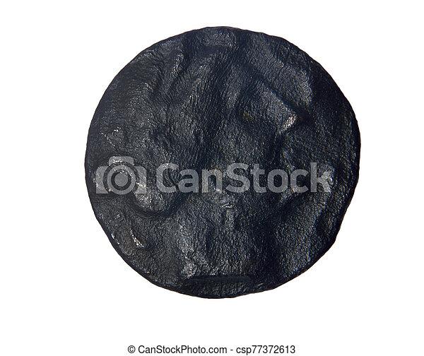 Drachma bronze, third century B.C. obverse: Female Head, Rhode (Roses) - csp77372613