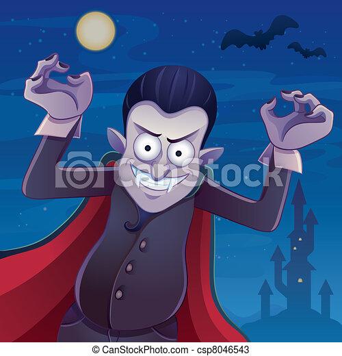 Dracula cartone animato dracula immagine halloween