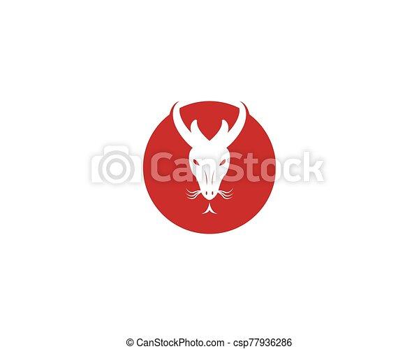 dragón, vector, ilustración, icono - csp77936286