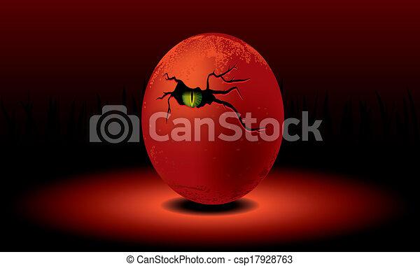 Dragon egg - csp17928763