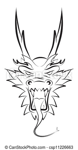 dragon head - csp11226663