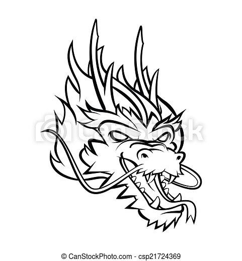 Dragon Head - csp21724369