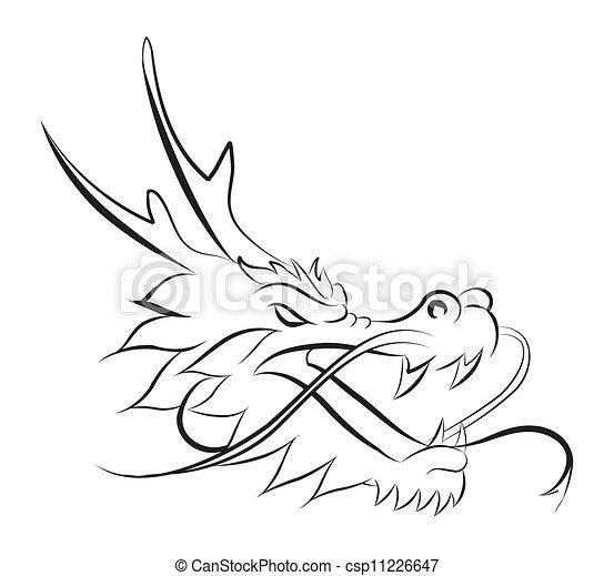dragon head - csp11226647