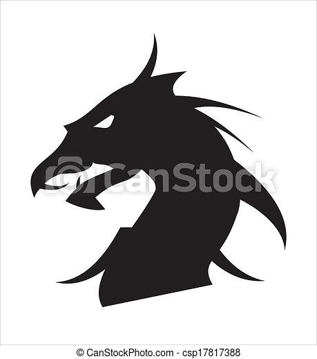 dragon head - csp17817388