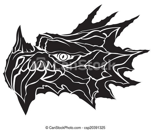 dragon head - csp20391325