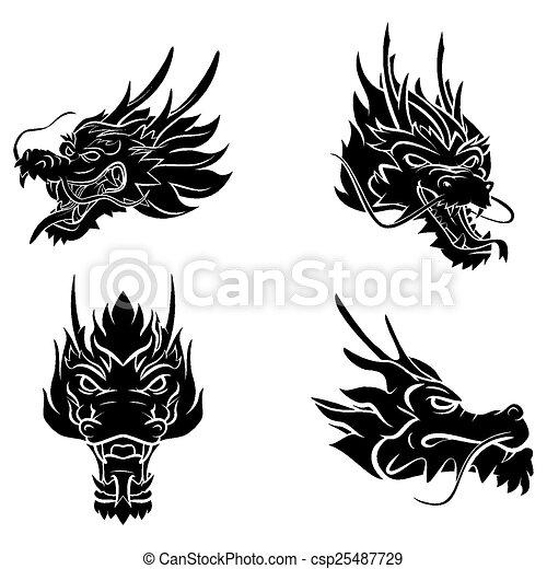 Dragon Head - csp25487729