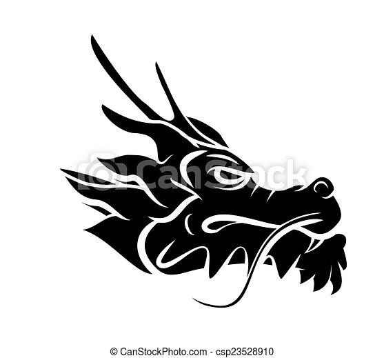 Dragon Head - csp23528910