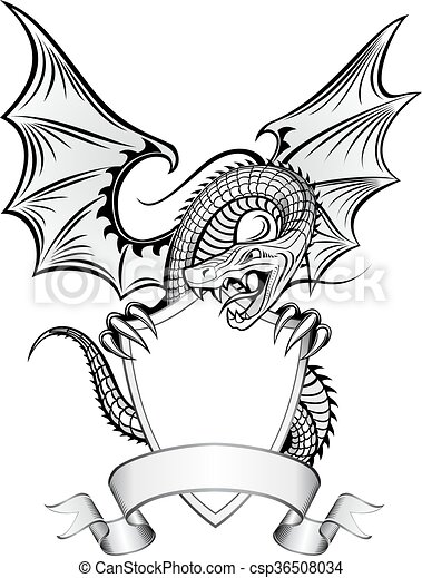 Dragon Insignia - csp36508034