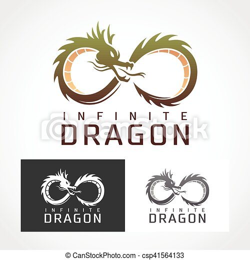 Dragon Logo Symbol Suitable For Professional Design Use Vectors