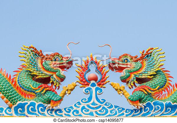 dragon of chinese - csp14095877