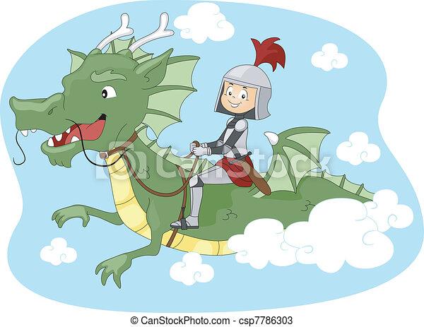 Dragon Ride - csp7786303