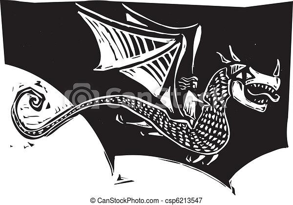 Dragon Rider - csp6213547