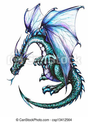 Dragon - csp13412564