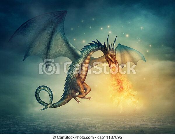 Dragon - csp11137095