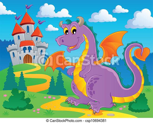 Dragon theme image 2 - csp10694381