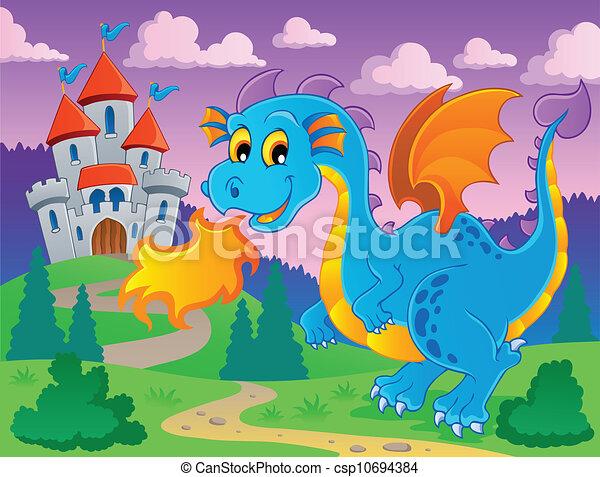 Dragon theme image 5 - csp10694384