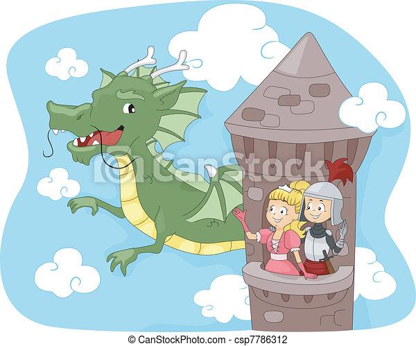 Dragon Tower - csp7786312