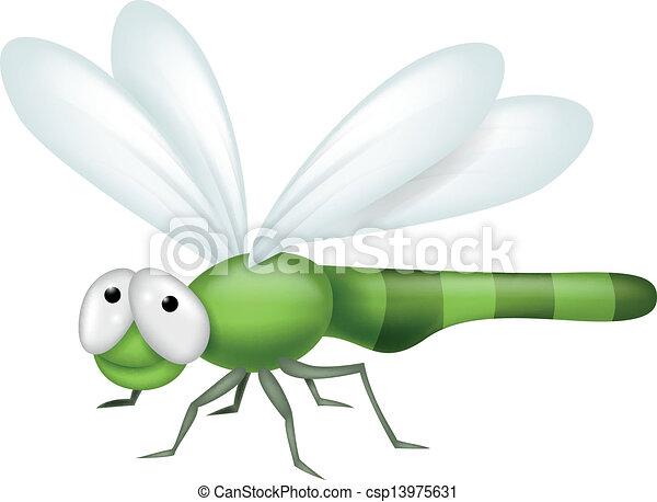 dragonfly, rysunek - csp13975631