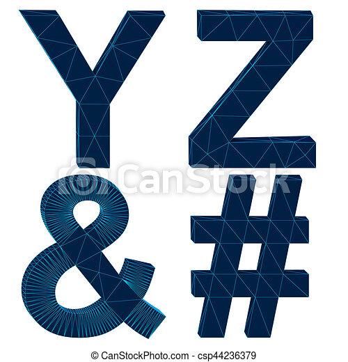 Draht, briefe, alphabet, freigestellt, übertragung, 3d. Draht ...
