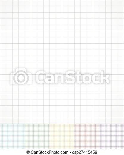 Draht, hintergrund, papier, gridded, rahmen, color., papier ...