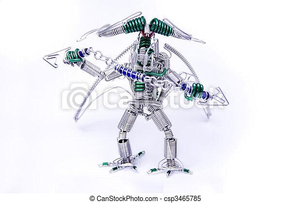 Charmant Roboter Muskel Draht Galerie - Elektrische ...