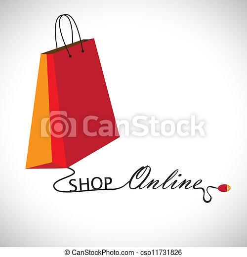 Draht, shoppen, technology., &, formung, symbol, enthält,... Vektor ...