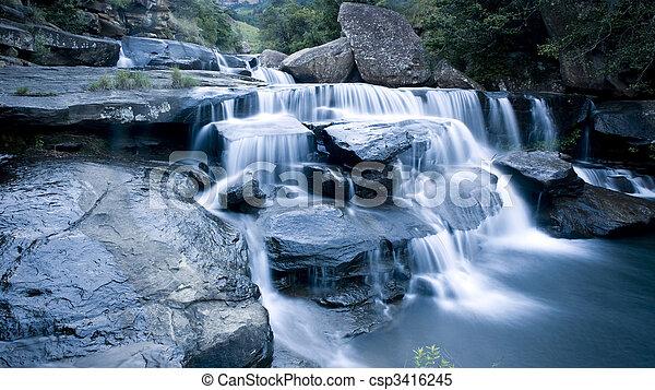 drakensberg, 滝 - csp3416245