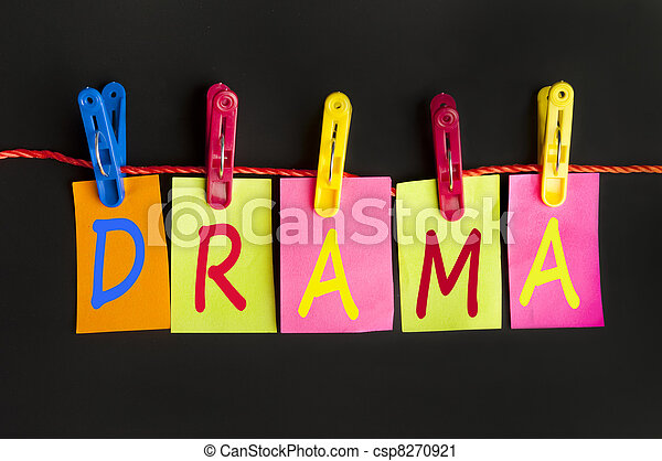 dramat, słowo - csp8270921