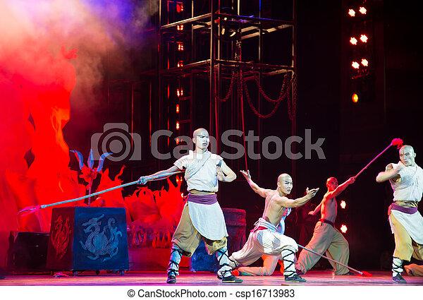 """dramat, theater"""", pokaz, """"red, kungfu, kungfu"""", najbardziej, """"legend, porcelana, beijing, czyn, pasjonujący, świat - csp16713983"""