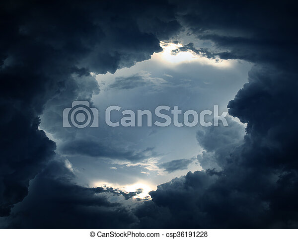Dramatic Cloudscape Background - csp36191228