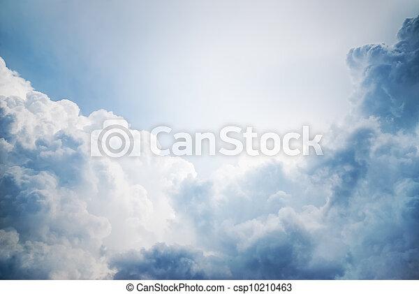 dramatic cloudscape - csp10210463