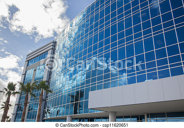 Dramatic Corporate Building Abstract - csp11620651