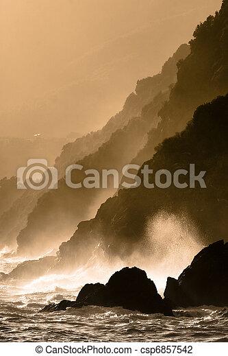 Dramatic seascape - csp6857542