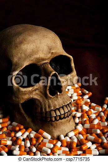 Dramatic sickness - csp7715735
