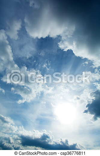 Dramatic Sky - csp36776811
