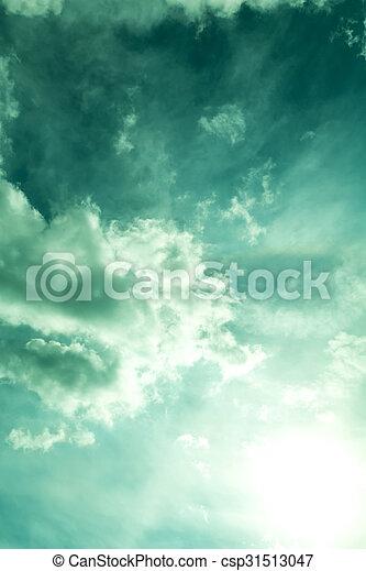 Dramatic Sky - csp31513047